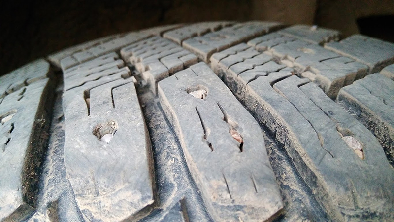 Goodyear UltraGrip Ice Arctic без шипов после 2-х сезонов эксплуатации
